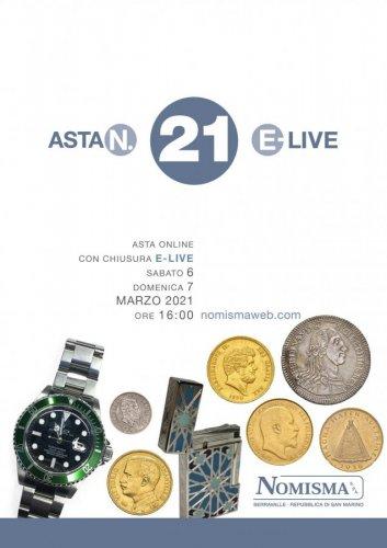 Asta 21 E-Live