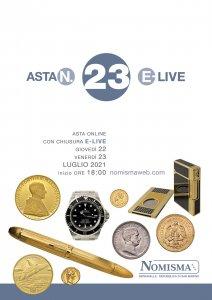 Asta 23 E-Live